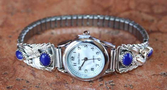 Navajo Lapis Ladies Watch