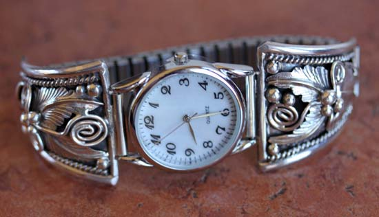 Navajo Silver Men's Watch